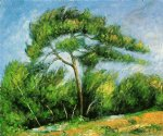 the great pine ii by paul cezanne painting