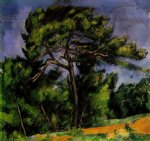 the great pine by paul cezanne painting
