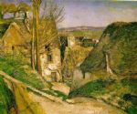 paul cezanne the hanged man s house paintings