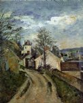 the house of dr. gached in auvers by paul cezanne painting