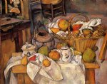 the kitchen table by paul cezanne painting