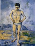 paul cezanne the large bather iv oil painting