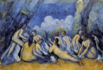 the large bathers iii by paul cezanne painting