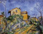 the maison maria by paul cezanne painting