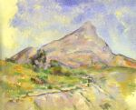 paul cezanne the mount of st.victoria paintings