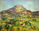 paul cezanne the mount sainte victoire painting