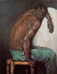 the negro scipio by paul cezanne painting