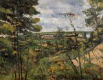 the oise valley by paul cezanne painting