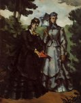 the promenade by paul cezanne painting