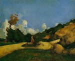 the road by paul cezanne painting