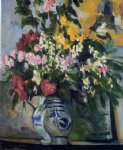 paul cezanne two vases of flowers painting 28062