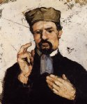 uncle dominique as a lawyer by paul cezanne painting