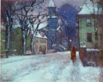 december by paul cornoyer painting