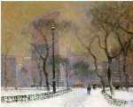 flat iron building by paul cornoyer paintings