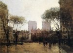 the plaza at 59th street by paul cornoyer paintings