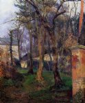 paul gauguin abandoned garden rouen painting