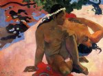 paul gauguin aha oe feii painting