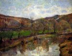 paul gauguin aven valley upstream of pont posters