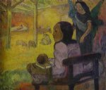 paul gauguin baby painting-27165
