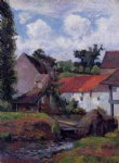 paul gauguin farm in osny posters