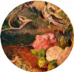 paul gauguin flowers and a bird painting 27242