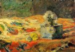 paul gauguin flowers and carpet ii painting 27243