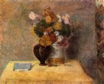 paul gauguin flowers and japanese book painting 27245