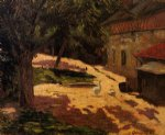 henhouse by paul gauguin painting