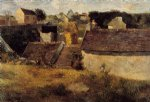 paul gauguin houses vaugirard painting