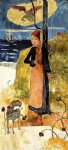 paul gauguin joan of arc painting