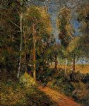 paul gauguin lane through the beaches painting 27306