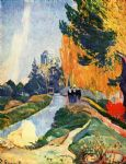 les alyscamps by paul gauguin oil paintings