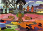 mahana no atua by paul gauguin oil paintings