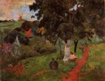 paul gauguin martinique landscape painting