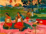 miraculous source by paul gauguin Painting