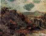 paul gauguin mountain landscape painting 27343