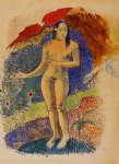 paul gauguin nave nave feuna l eve tahitienne painting