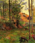 paul gauguin path down to the aven prints