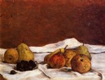 paul gauguin pears and grapes prints