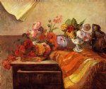 paul gauguin pots and bouquets prints