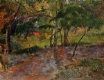 paul gauguin river under the trees martinique prints
