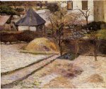 paul gauguin rouen landscape painting 27400