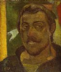 portrait paintings - self portrait ii by paul gauguin