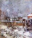 paul gauguin snow rue carcel painting