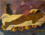 paul gauguin spirit of the dead watching painting