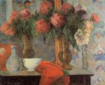 paul gauguin still life the white bowl painting