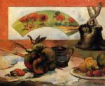 paul gauguin still life with fan paintings