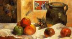 still life with japanese print by paul gauguin painting