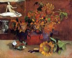 still life with l esperance by paul gauguin painting