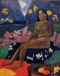 te aa no areois by paul gauguin painting